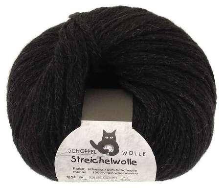 Main streichelwolle 880 black