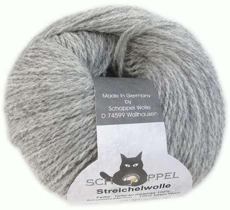 Main streichelwolle 9220m light gray blend
