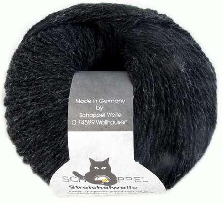 Main streichelwolle 9755 grey melange antracite
