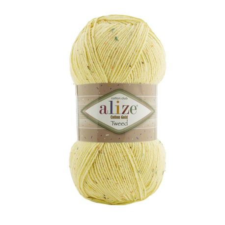 Main cotton gold tweed 643 yellow