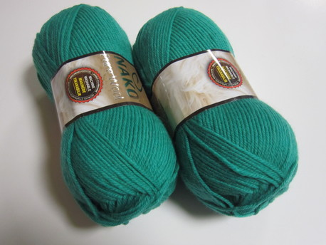 Main pure wool 1130 zals smaragds