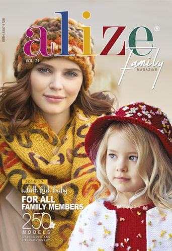 Buy Alize Knitting magazine VOL 21 From ALIZE Online
