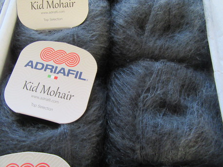 Main kid mohair 023 antracits