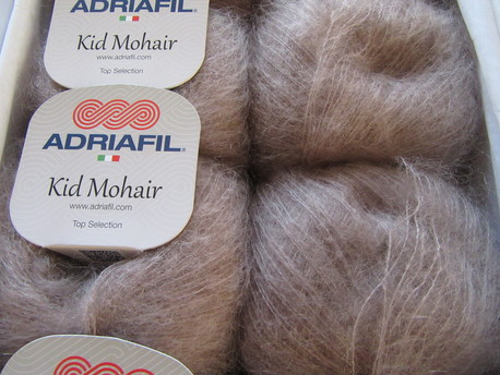 Main kid mohair 074 g bruna