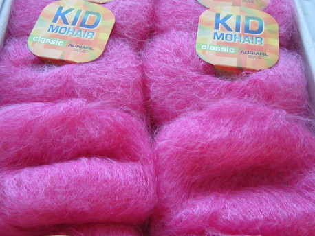 Main kid mohair 064 fuksija