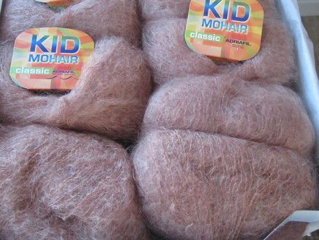 Main kid mohair 092 brunigs