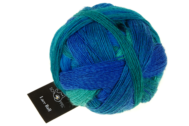 Large lace ball 2360 grinding turquoise