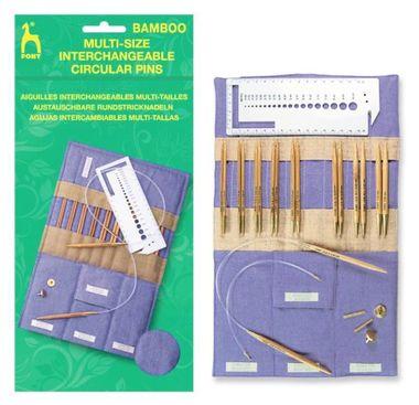 Main pony 57801 bamboo interchangeables needle case pi